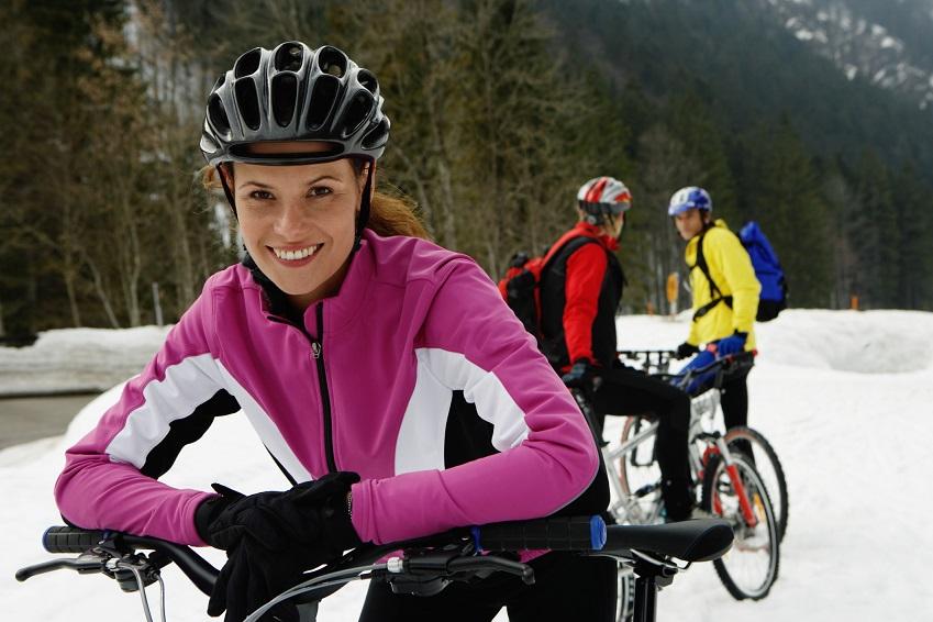 Mit dem Mountainbike über Schnee und Eis – so geht's